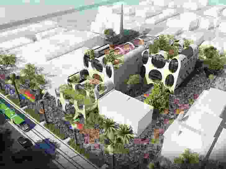 Australia's first custom-built LGBTQI Pride Centre will be built in the Melbourne suburb of St Kilda to a design by Grant Amon Architects and Brearley Architects and Urbanists, following a 2017 design competition.