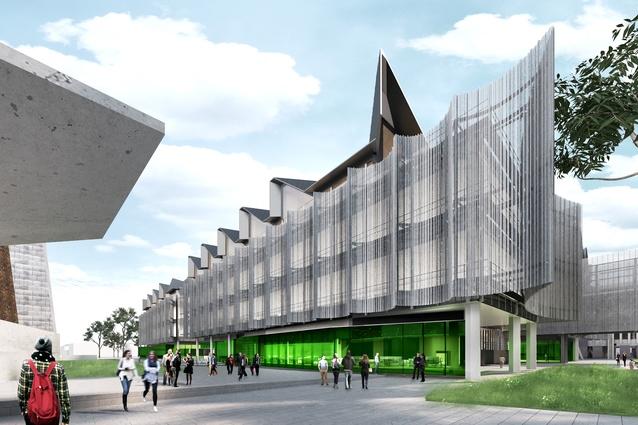 John Wardle Architects\' \'gateway\' building for Monash University ...