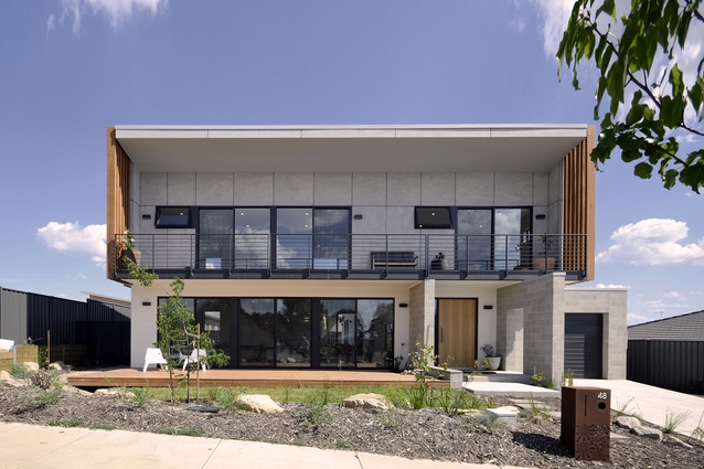 OS House by Ben Walker Architects.