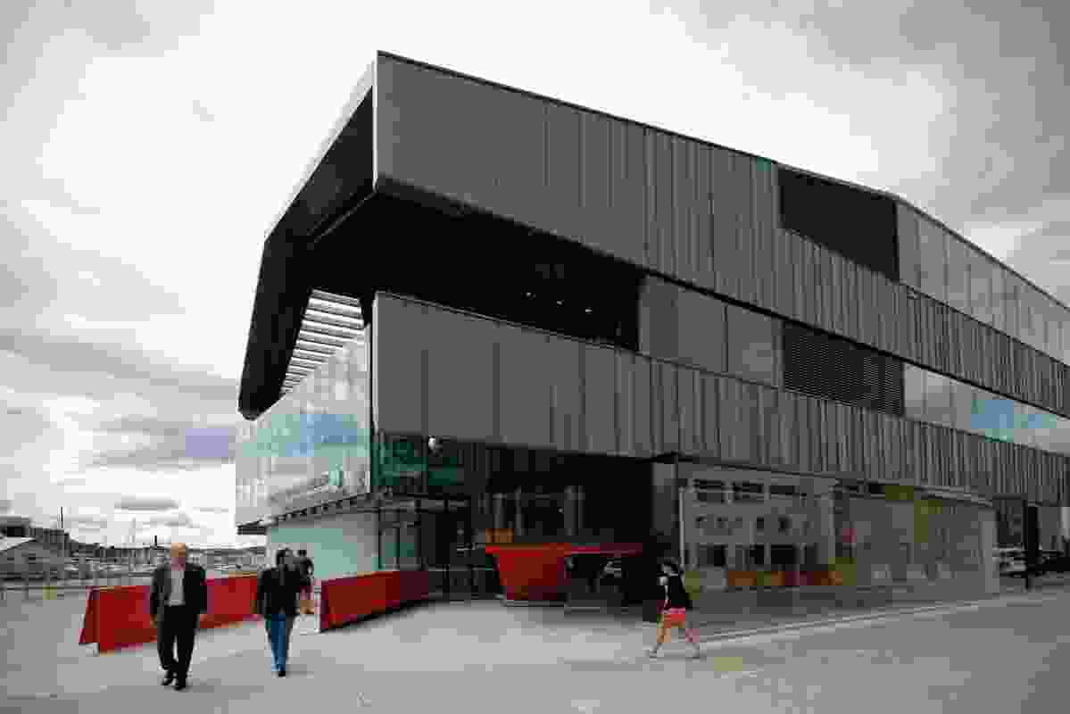 UTAS Institute for Marine & Antarctic Studies by John Wardle Architects + Terroir, in Association.
