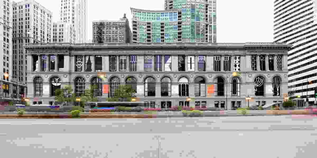 The Chicago Cultural Center, host to the Chicago Architecture Biennial 2015.