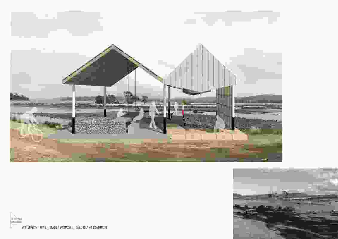 Triabunna Tomorrow Township Revitalisation Project by Gilby and Brewin Architecture and Urban Design.