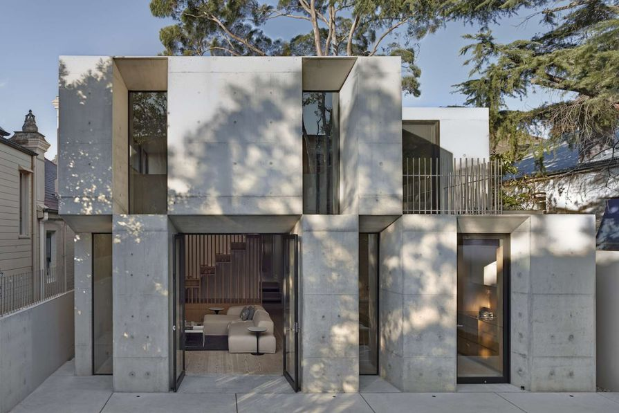 Glebe House by Nobbs Radford Architects.
