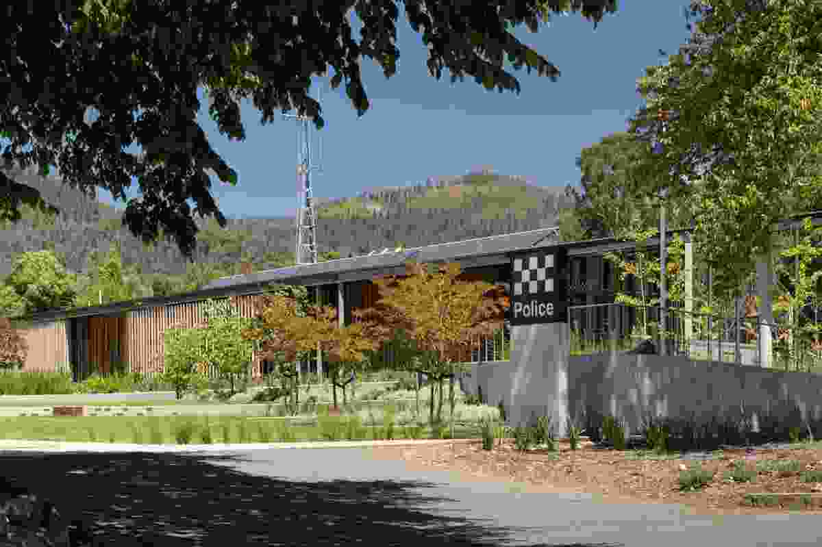 Marysville Police Station by Kerstin Thompson Architects.