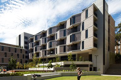 UNSW Kensington Colleges (NSW) by Bates Smart, winner of the 2014 Grand Prix and the Horbury Hunt Commercial Award.