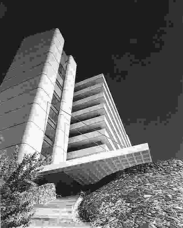 The former TAB building by Geoffrey Pie.