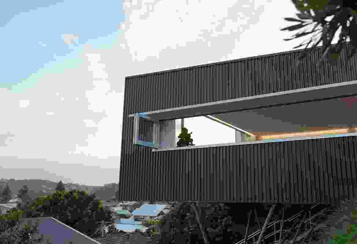 North Avoca Studio by Matt Thitchener Architect.