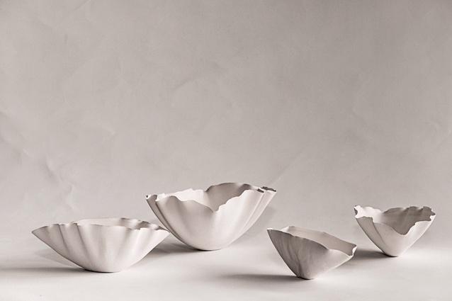 International Design Project: Catenary Pottery Printer. Pictured: Catenary Pottery Printer models.