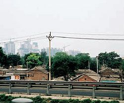 Beijing's changing skyline. Photographs Paul Hogben.