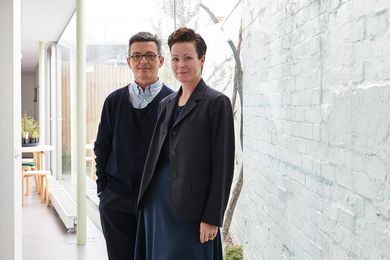 Mauro Baracco and Louise Wright of Baracco and Wright Architects (cropped).