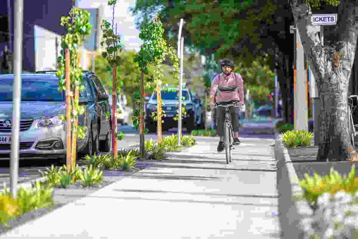 City Bikeways: North South Bikeway by City of Adelaide