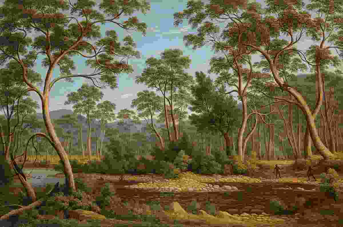 John Glover, The River Nile, Van Diemen's Land, from Mr Glover's farm, 1837. National Gallery of Victoria, Melbourne. Felton Bequest, 1956