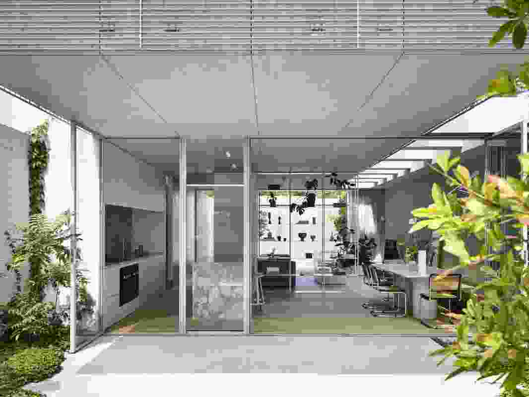Fitzroy North House 02 by Rob Kennon Architects.