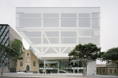 Geelong Arts Centre Ryrie Street Redevelopment by Hassell.