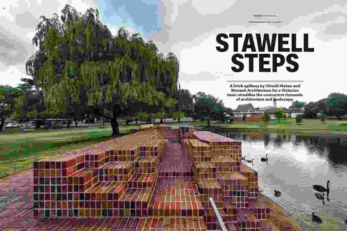 Stawell Steps by Hiroshi Nakao and Monash Architecture.