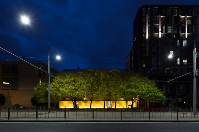 The Grimwade Centre for Cultural Materials Conservation, the University of Melbourne by Jackson Clements Burrows Architects.