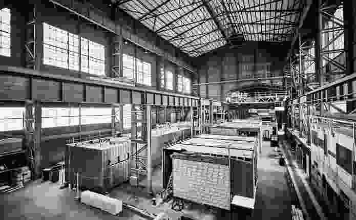 Open State Open Days. Pictured: Modscape factory.