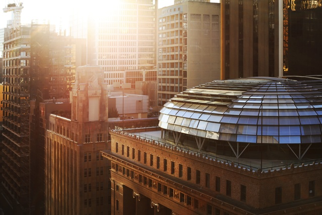 The Beaux-Arts revivalist-style building at 50 Martin Place has been revitalized by Johnson Pilton Walker for Macquarie Group.