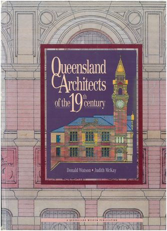 Don Watson and Judith McKay's books are standard references on Queensland architecture and are yet to be replicated in other states.