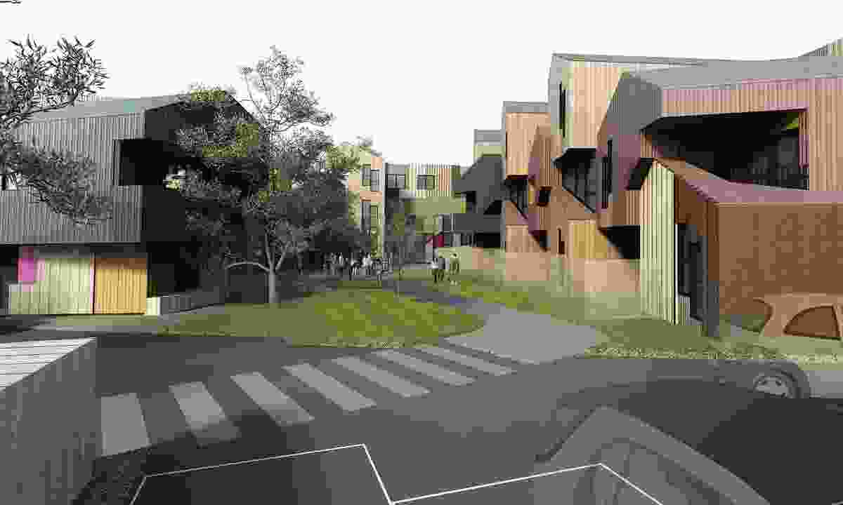 McIntyre Road Housing, Altona, by MGS Architects for the Office of Housing (2010).