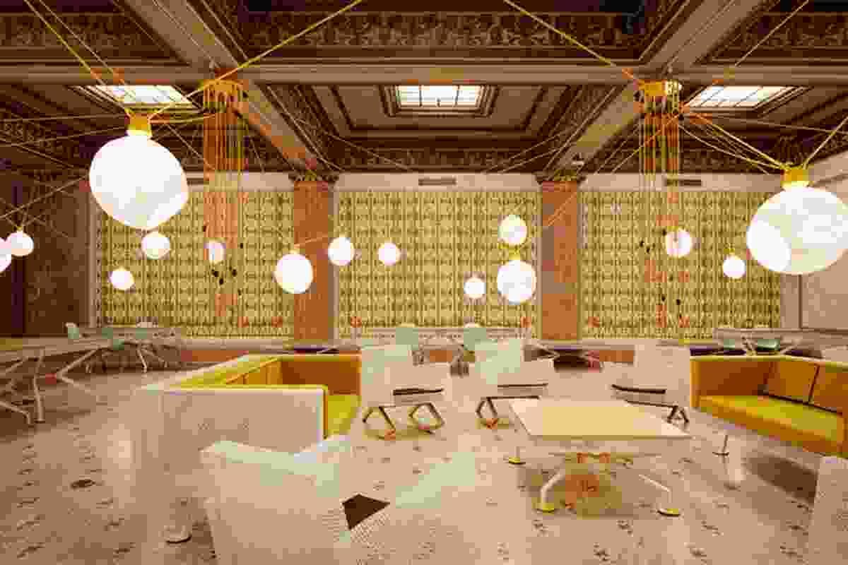 Randolph by Pedro & Juana, Chicago Architecture Biennial 2015.