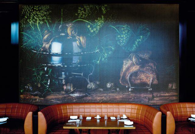 从历史悠久的哈斯顿拍摄,罗马斯福的照片已经扩大到餐厅到餐厅。