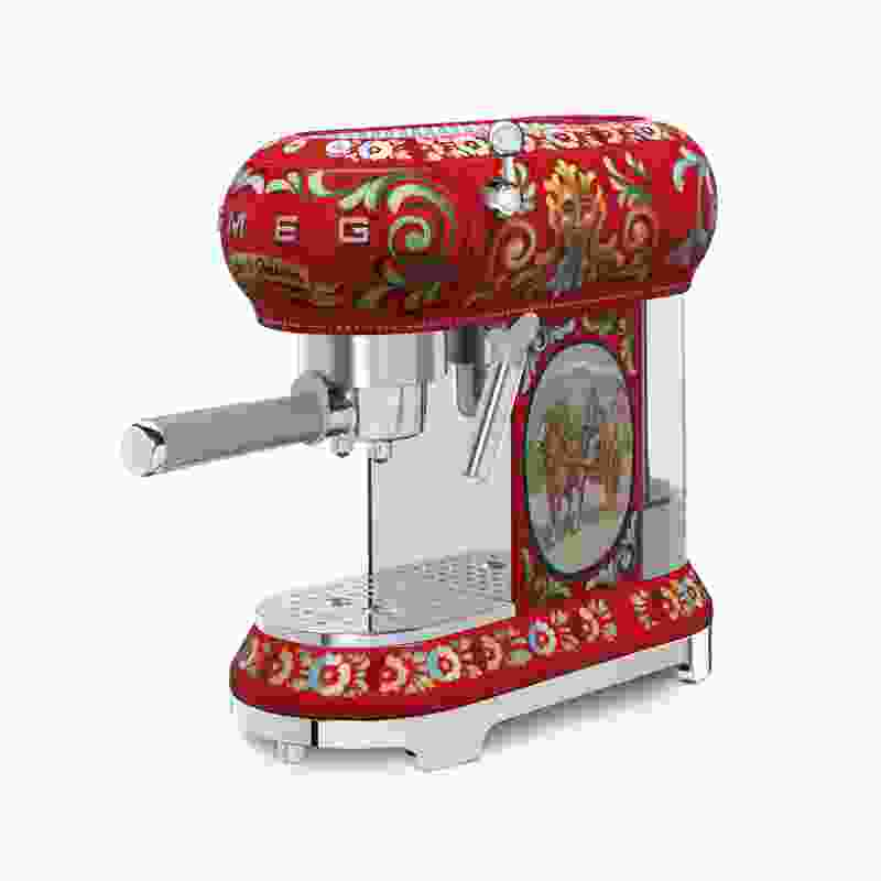 Sicily is my Love, a Smeg and Dolce and Gabbana collaboration.