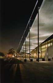 Melbourne Museum by Denton Corker Marshall. Image: John Gollings.