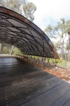 Bugiga Hiker Camp – Grampians National Park by Sean Godsell Architect.