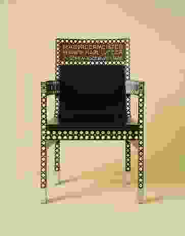 Chair by Otto Wagner, 1904.