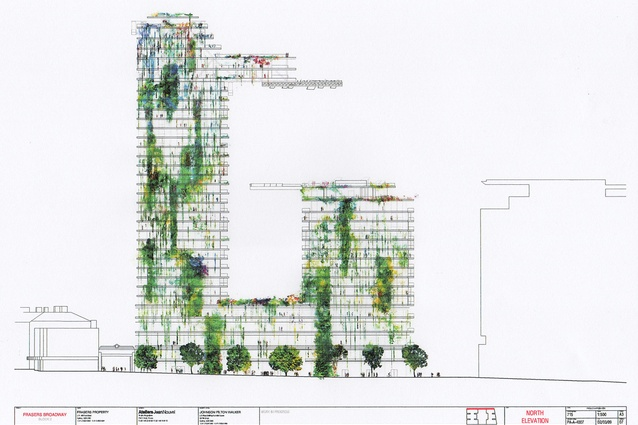 Sydney's One Central Park residential tower, with vertical garden designed by botanist Patrick Blanc and French architect Jean Nouvel.