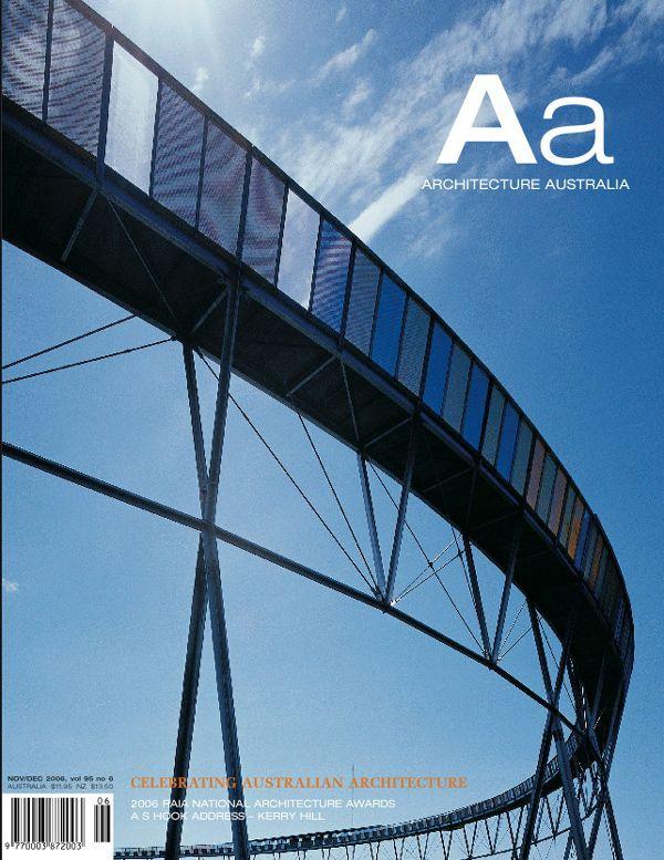 Architecture Australia, November 2006