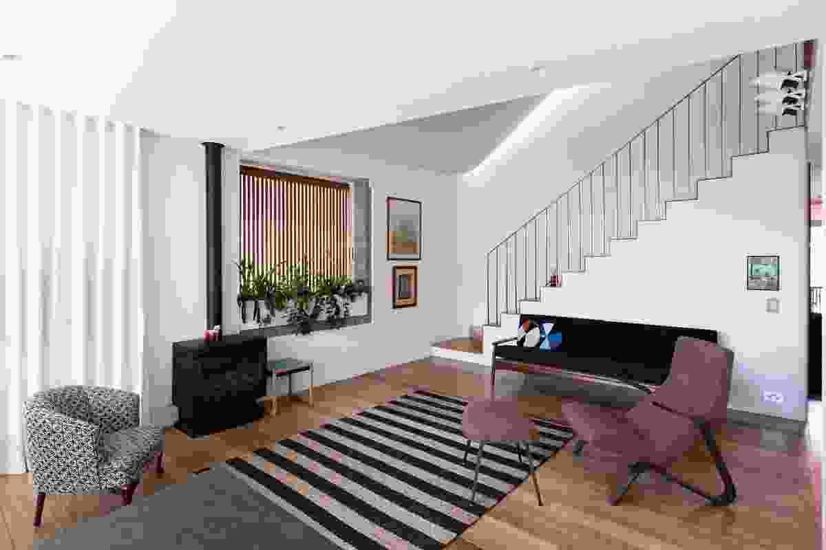 House 1 living room.