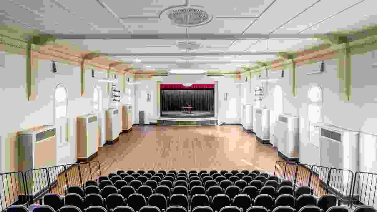 Maitland Town Hall - Auditorium Refurbishment by Maitland City Council and the NSW Government Architect's Office.