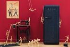 FAB28 denim refrigerator from Smeg
