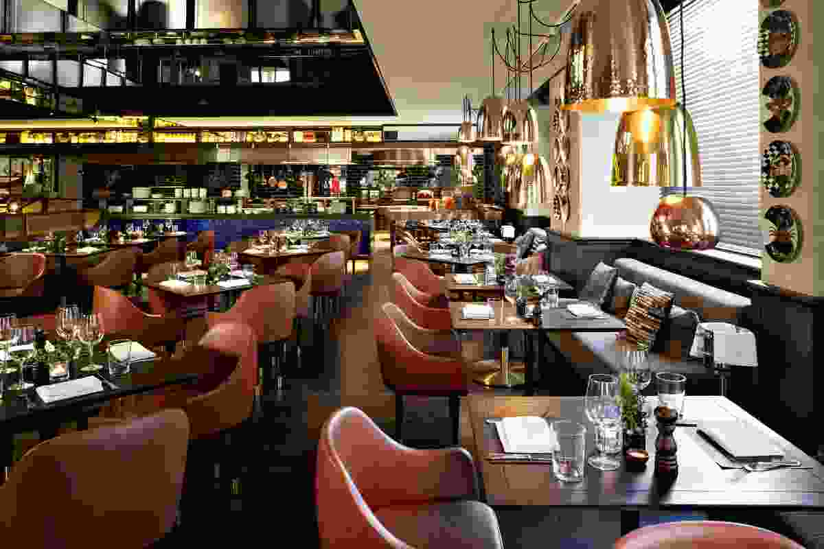 Gowings Bar & Grill, European-style menu with a seafood bias by food director  Robert Marchetti.