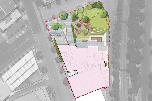 South Melbourne Primary School floorplan, by Hayball