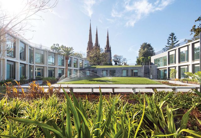 Parliament of Victoria Members' Annexe by Peter Elliott Architecture and Urban Design.