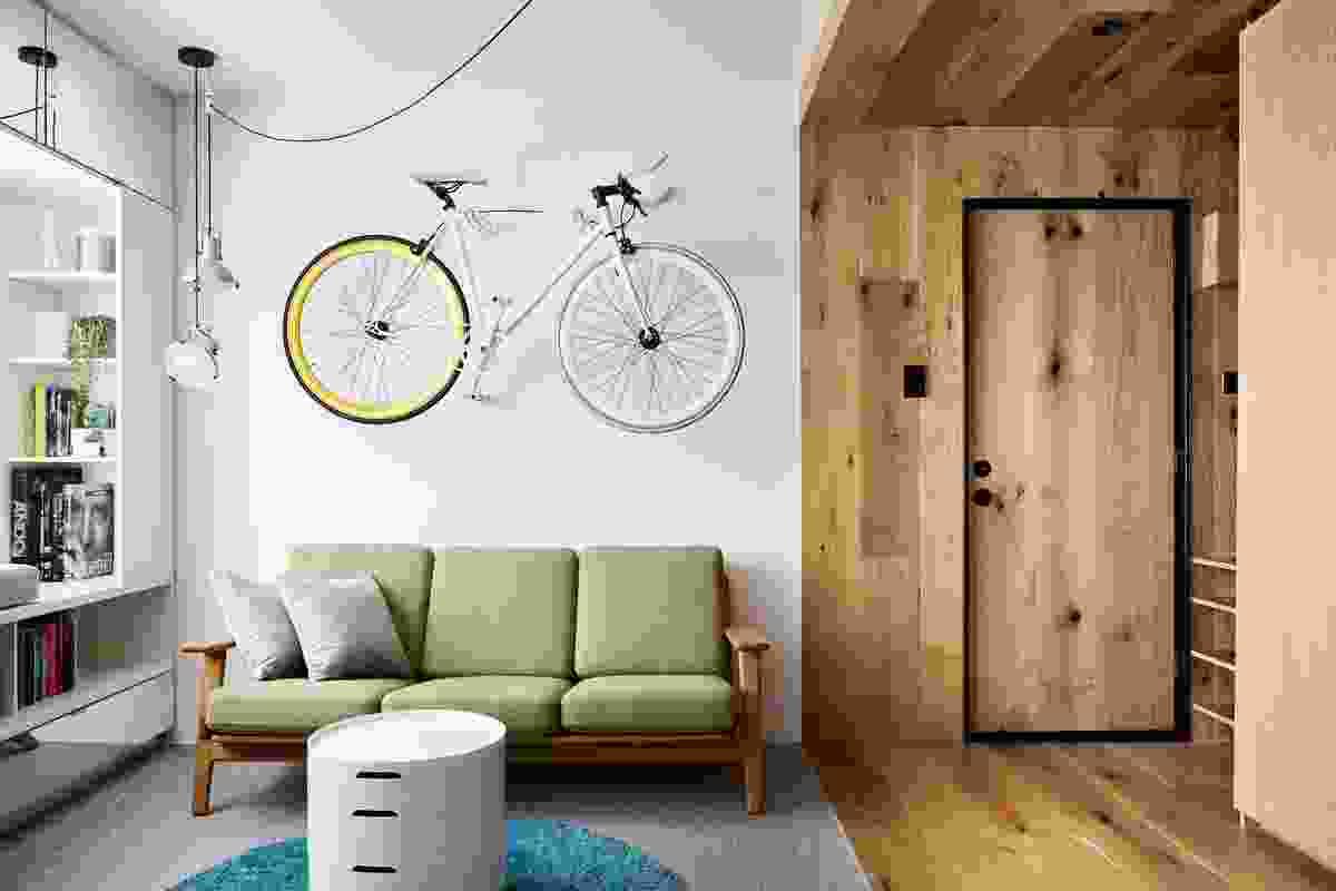 Type St Apartment by Tsai Design.