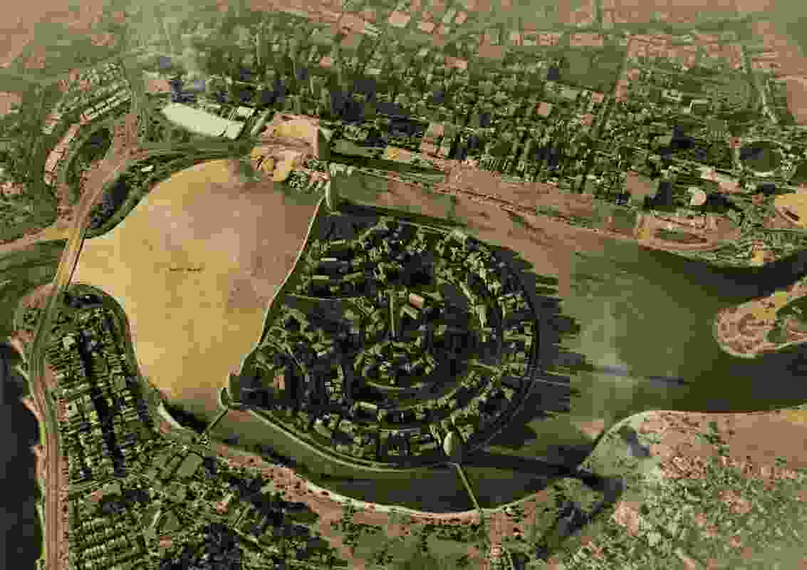 A 1931 proposal from engineer Frank Vincent to create a 120-hectare artificial island in the middle of Perth Water.