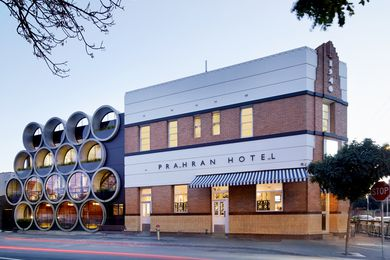 Prahran Hotel by Techne Architects.