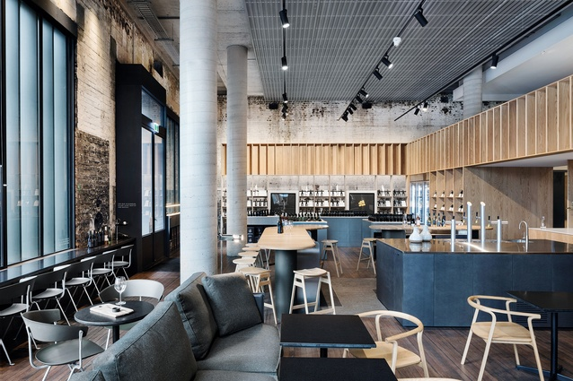 Handpicked Wines Cellar Door (Chippendale, New South Wales) — DesignOffice