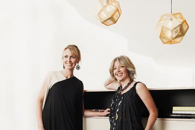 Mardi Doherty and Fiona Lynch, directors of Doherty Lynch.