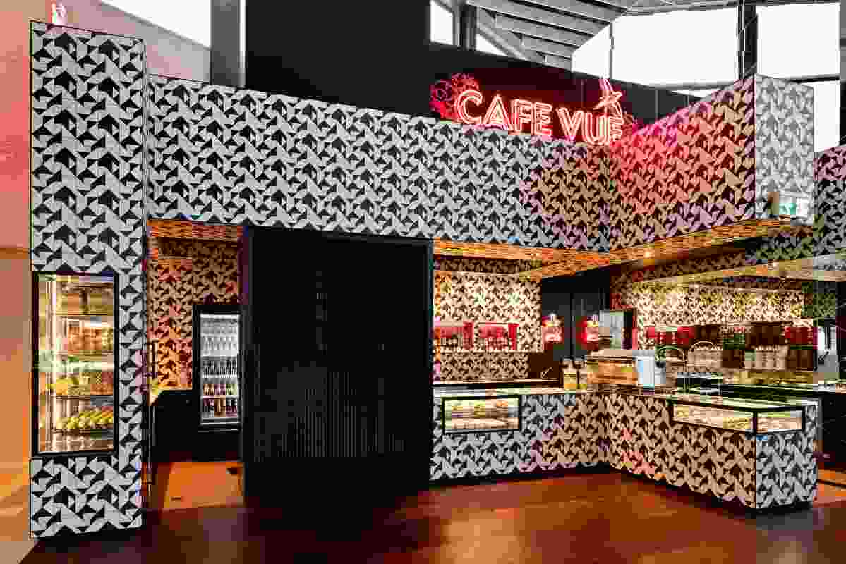 Hospitality Design – Cafe Vue Melbourne Airport by Elenberg Fraser.