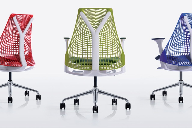 The SAYL chair, created for Herman Miller.