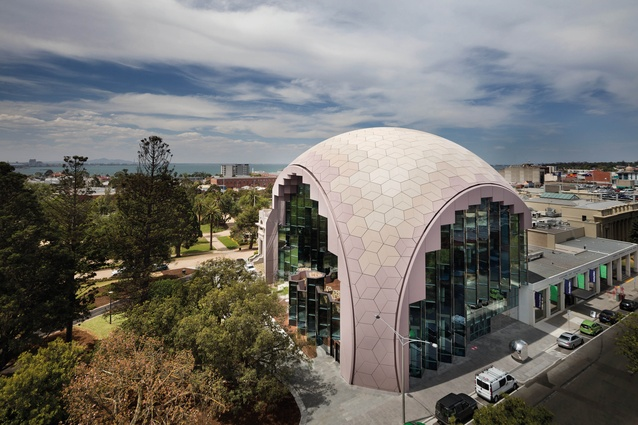 Victorian Medal: Geelong Library and Heritage Centre by ARM Architecture.