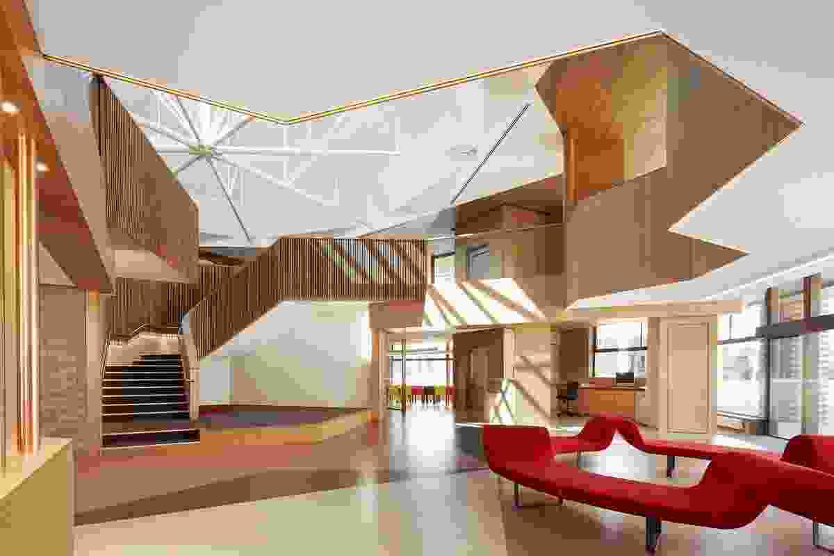 Heritage Architecture Award – Ormond College Academic Centre by McGlashan Everist.