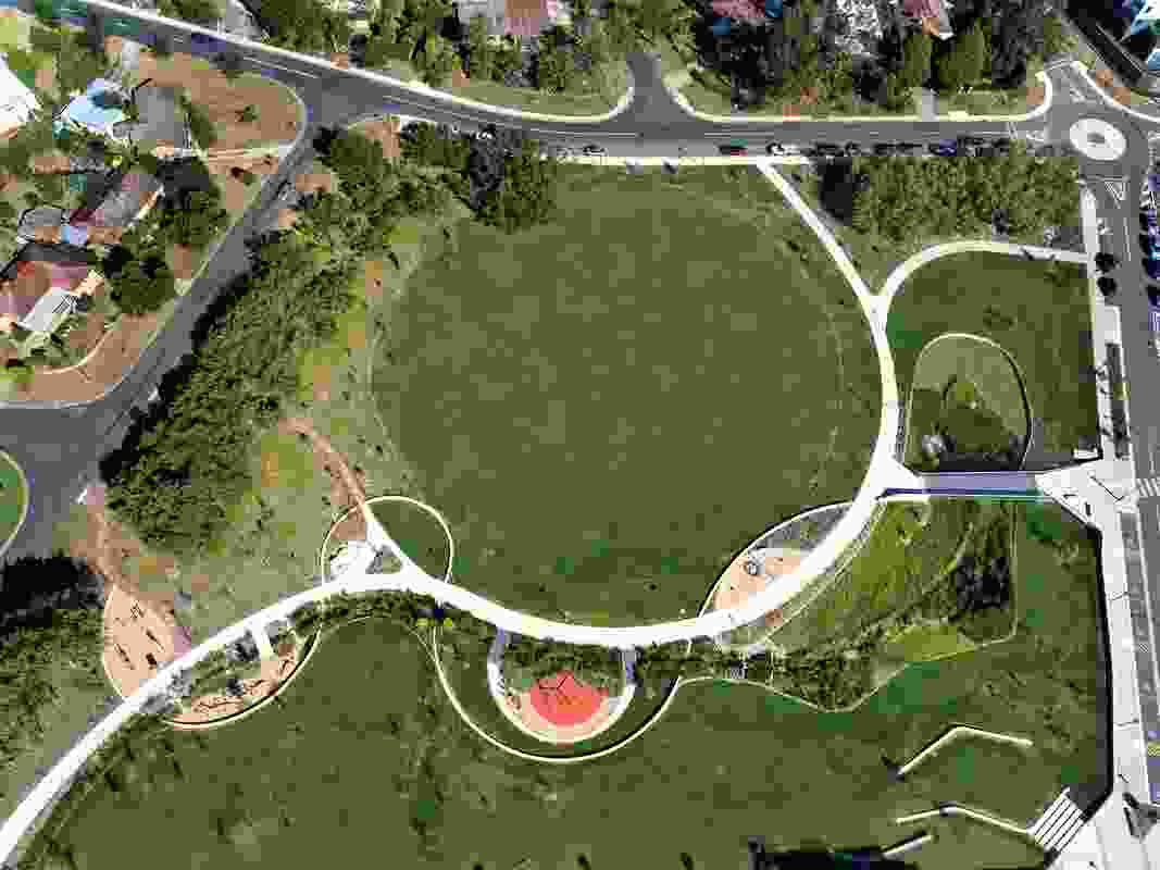 Campbell Section 5 Master Plan by Hill Thalis Architecture and Urban Projects.