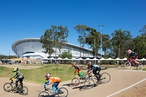Cox Architecture's Queensland velodrome opens