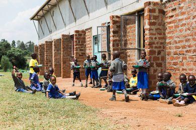 The ClarkeHopkinsClarke-designed One Heart Village in Turbo, Kenya.